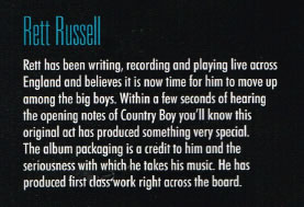 Rett Russell Review - Up Country Magazine